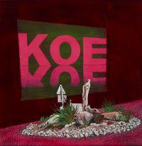 Koe by Huhana Smith contemporary artwork painting