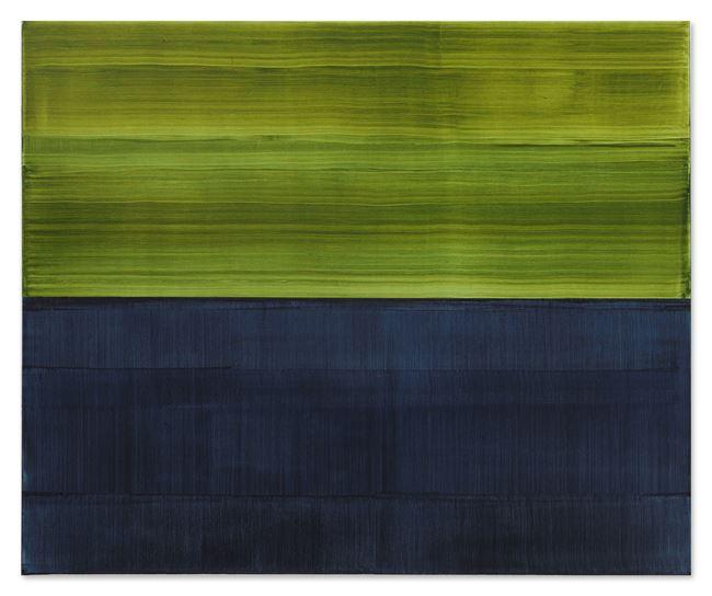 Green and Payne's Grey 1 by Ricardo Mazal contemporary artwork