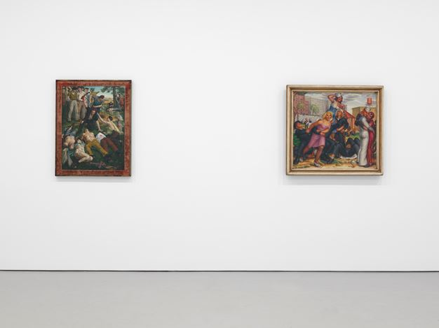 Exhibition view: Group Show, The Young and Evil, David Zwirner, 19th Street, New York (21 February–13 April 2019).Courtesy David Zwirner.
