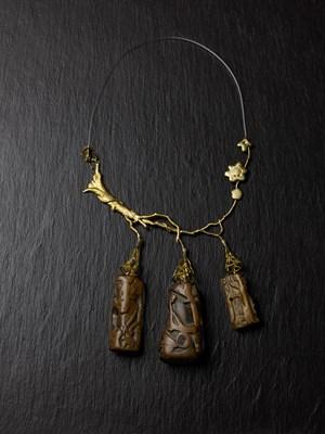 Necklace by Mimi Lipton contemporary artwork