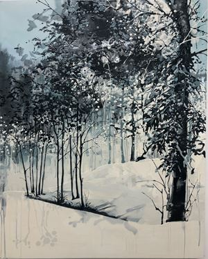 Walden Pond/Walden (Ridge Path) by Kirsten Everberg contemporary artwork