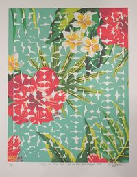 Tele i'a O Le Sami  (Let me hear you whisper) by Lonnie Hutchinson contemporary artwork print
