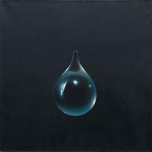Événement de la nuit by Kim Tschang-Yeul contemporary artwork