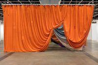 Seven Curtains by Ulla Von Brandenburg contemporary artwork installation