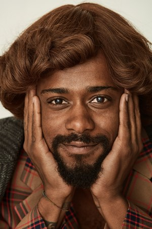Lakeith Stanfield by Roe Ethridge contemporary artwork