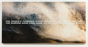 The Surfers by Alex Israel and Bret Easton Ellis contemporary artwork