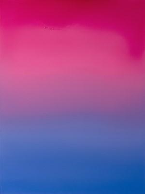 (Quinacridone Rose, Manganese Violet & Cobalt Blue) by Jamie Teo Si Ru contemporary artwork