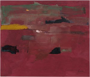 Tunis II by Helen Frankenthaler contemporary artwork