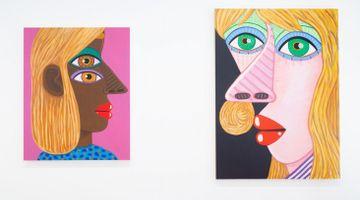 Contemporary art exhibition, Brian Calvin, More Days at Almine Rech, Avenue Matignon, Paris, France