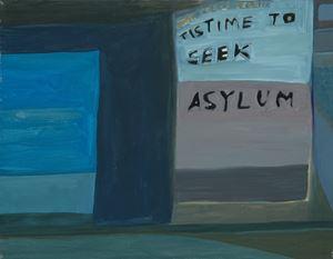 Tis Time to Seek Asylum by Ficre Ghebreyesus contemporary artwork