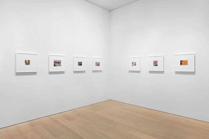 Exhibition view: Dexter Dalwood, Collages 1999 - 2011, Simon Lee Gallery, London (12 April–8 May 2021). Courtesy Simon Lee Gallery.