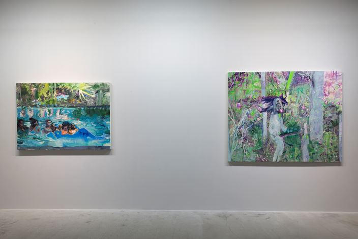 Exhibition view: Jhong Jiang-Ze, Dissociate. Imaging, Mind Set Art Center, Taipei (6 June–7 July 2019). Courtesy Mind Set Art Center.