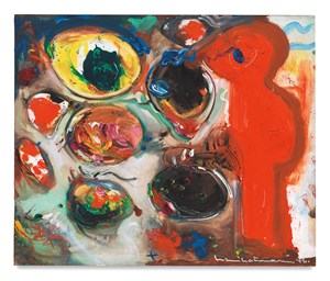 The Conjuror (Small Version) by Hans Hofmann contemporary artwork