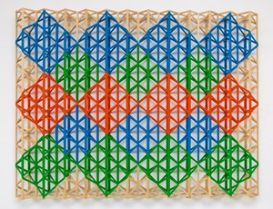 Bahar Ayie Khushyaan Lyie (Spring Come Happiness) by Rasheed Araeen contemporary artwork