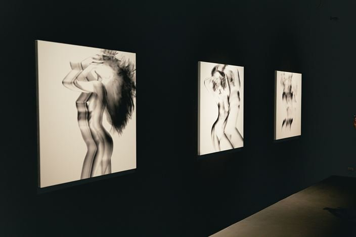 Exhibition view: Joshua Lin, Flux of Shadows, TKG+, Taipei (1 August–12 September). Courtesy TKG+, Taipei.