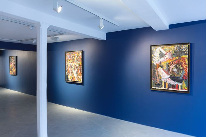 Exhibition view: James Drinkwater, A Day by the Sea - An Introduction, Informality, Henley on Thames (18 January–12 February 2020). Courtesy Informality.