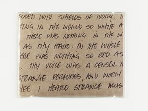 ''Untitled'' (Lover's Letter) by Felix Gonzalez-Torres contemporary artwork