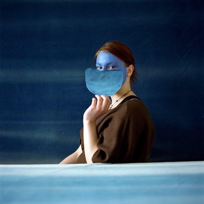 Blue by Layla Rudneva-Mackay contemporary artwork