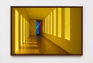 Yellow Passage by James Casebere contemporary artwork