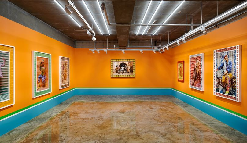 Exhibition view: Hassan Hajjaj, A Taste of Things to Come, Barakat Contemporary, Seoul (5 August–27 September 2020). Courtesy Barakat Contemporary