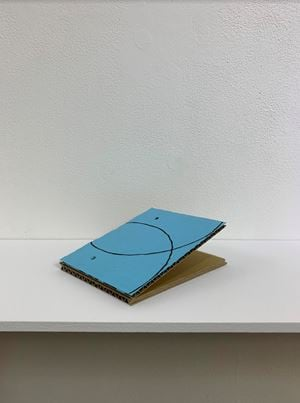 Sloping Sculpture #2 by Tomii Motohiro contemporary artwork