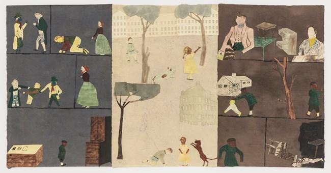 Fördelningen av arvet (The distribution of inheritance) by Jockum Nordström contemporary artwork