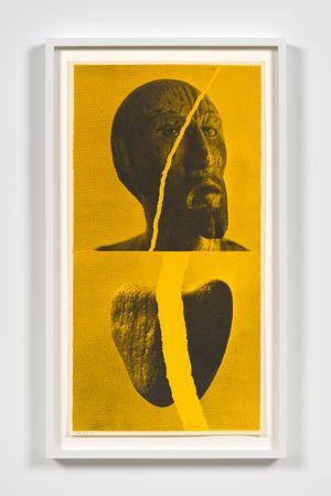 sacred heart by Corita Kent contemporary artwork print