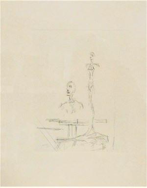 The Search by Alberto Giacometti contemporary artwork