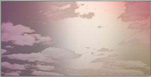 Unkai (A Sea of Clouds) Faint Vermillion by Miya Ando contemporary artwork