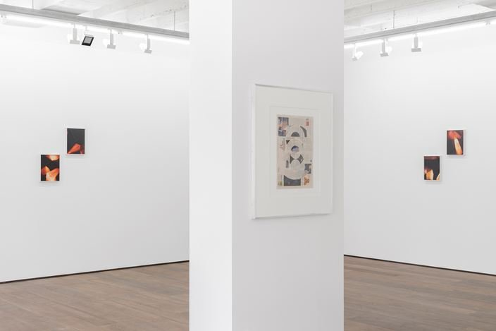 Exhibition view: Walead Beshty, Three pictures, rodolphe janssen, Brussels (5 September–26 October 2019). Courtesythe artist and rodolphe janssen, Brussels. Photo: HV photography.