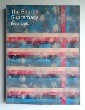 The Bourne Supremacy / Robert Ludlum by Heman Chong contemporary artwork