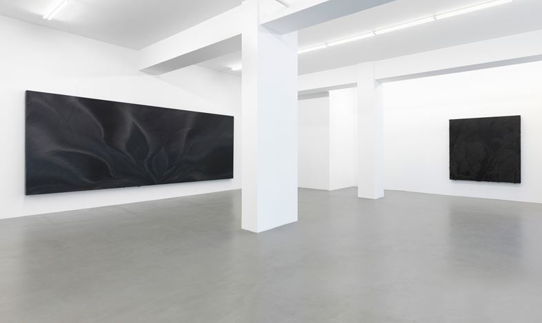 Exhibition view: Jason Martin,Vertigo,Buchmann Galerie, Berlin (28 September–3 November 2018). Courtesy Buchmann Galerie.