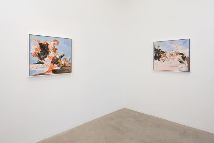 Exhibition view: Cris Coy, Jurassic, AE2, Los Angeles (20 July–24 August 2019). Courtesy Anat Ebgi.