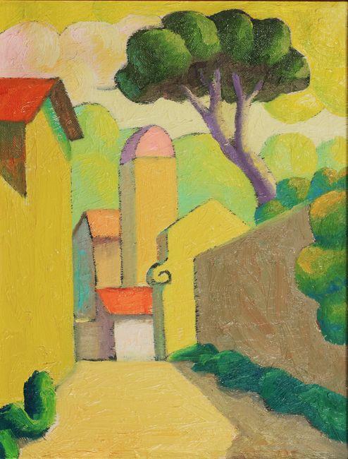 Landscape by Salvo contemporary artwork