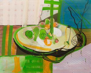 Finding an apple by Sunwang Qwon contemporary artwork