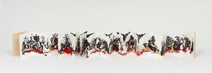 Trópicos malditos, gozosos e devotos (caderno), [Tropics: Damned, Orgasmic and Devoted (notebook)] by Rivane Neuenschwander contemporary artwork