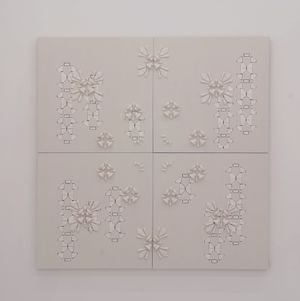 Pattern+Pattern 2 by Yeonju Ham contemporary artwork