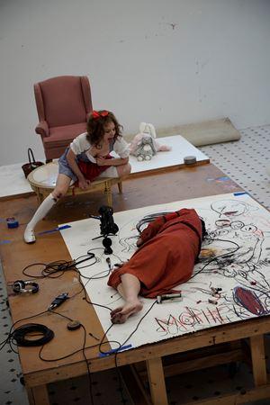 A&E Drawing Session, Santa Anita by Paul McCarthy contemporary artwork