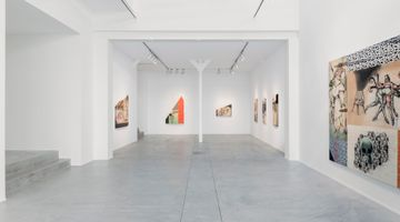 Contemporary art exhibition, Anju Dodiya, Tower of Slowness at Templon, Brussels
