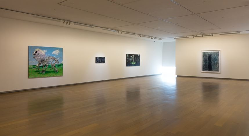 Exhibition view: Group Exhibition,Lingering, Eslite Gallery, Taipei (22 February–22 March 2020). Courtesy Eslite Gallery.