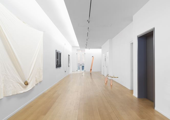 Exhibition view: Keiji Uematsu, Invisible Force, Simon Lee Gallery, New York (7 March–27 April 2019). Courtesy Simon Lee Gallery.