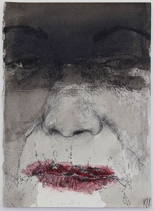 T.S. drawing #3 by Kristin Hollis contemporary artwork