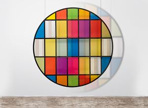 Tondo by Daniel Buren contemporary artwork