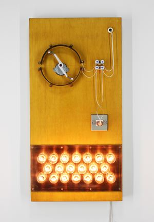 Point of Contact for 20 Incandescent Lamps #7 by Satoru Tamura contemporary artwork