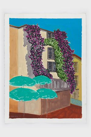 St. Tropez Backstreet by March Avery contemporary artwork