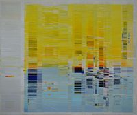 Field Notes (durations 6am - noon) by Tanya Goel contemporary artwork painting