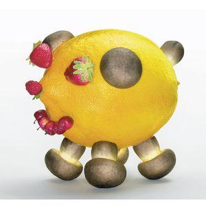 Lemon Pig, 2004 (For Parkett 71) by Olaf Breuning contemporary artwork