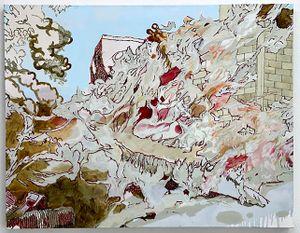 Garden on Fire by Yo Okada contemporary artwork