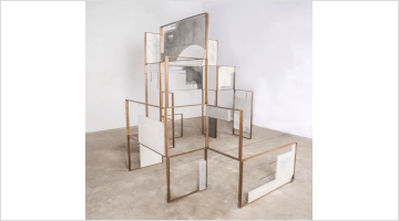 Contemporary art exhibition, Ishmael Randall Weeks, Boundary Space at Lawrie Shabibi, Dubai