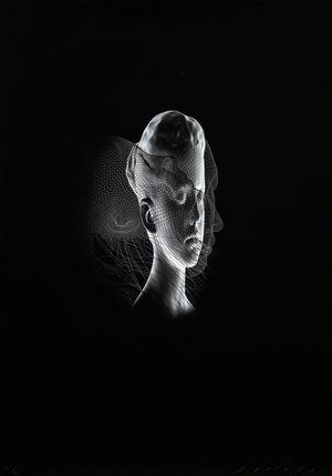 Aura I by Jaume Plensa contemporary artwork
